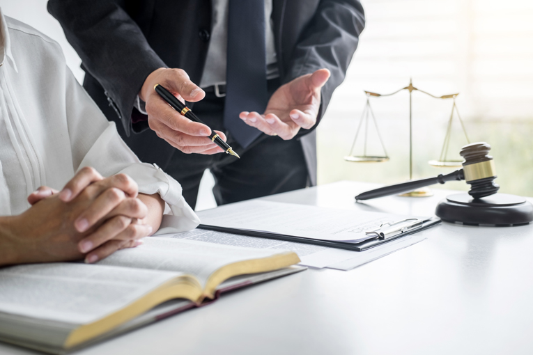 What is an associate solicitor at a law firm?
